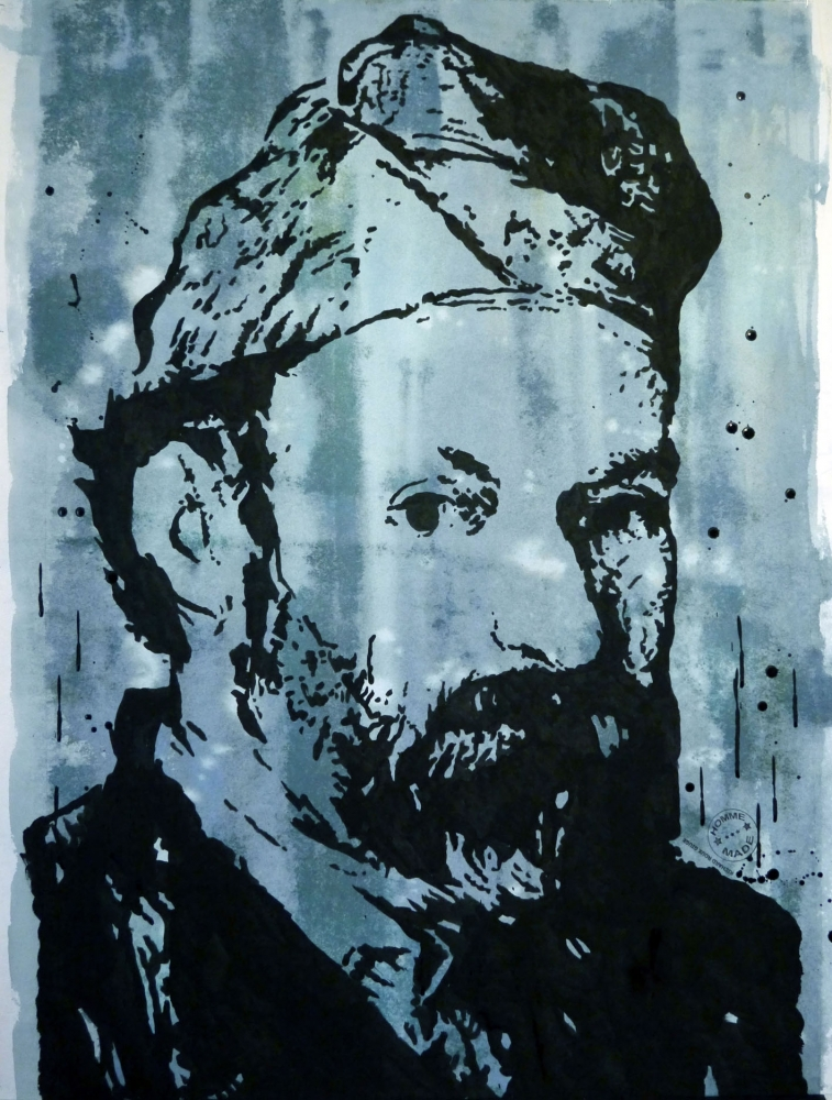 Paul Cézanne by Bibourich